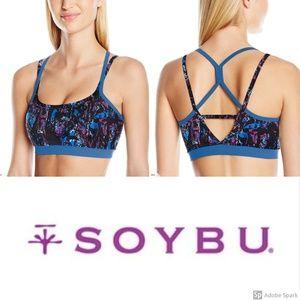 Soybu Sports Bra Levity Yoga Slick Low Impact M